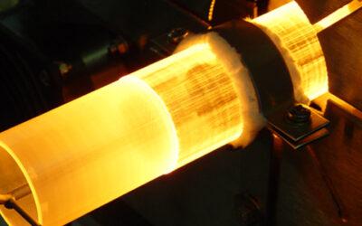 Hot Shots: Laboratory furnace with sapphire insert tube