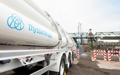 Injection of hydrogen into blast furnace: thyssenkrupp Steel concludes first test phase