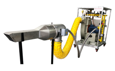 MSB refractory dry-out burner systems for furnace heat-up applications