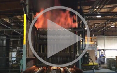 Video: Full furnace and oil quench cycle