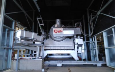 GHI starts up new rotary tilting furnace at Latem