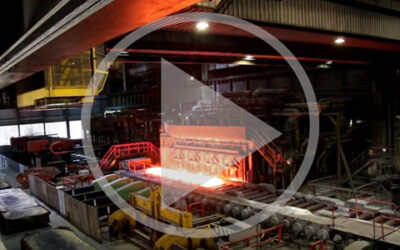 Video: Pusher furnace in action
