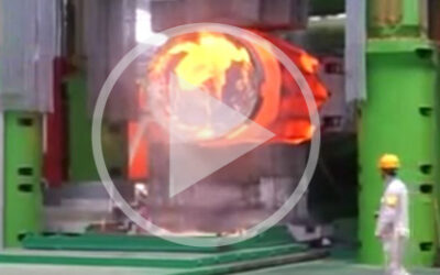 Video: Second largest open die forging press in the world