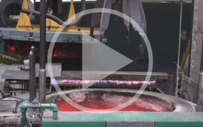 Video: Carburizing pit furnace in action