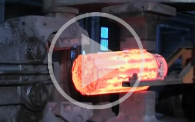 Video: Forging of a roll