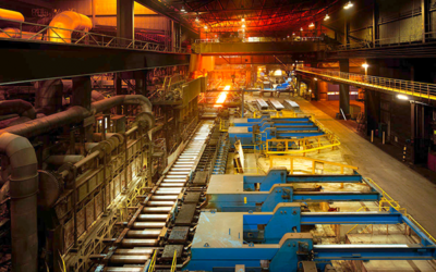 SSAB awards ABB with the modernisation of its hot strip mill in Borlänge
