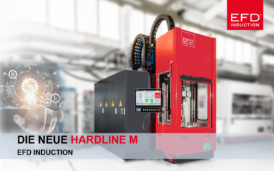 EFD Induction launches the new generation of vertical hardening machines