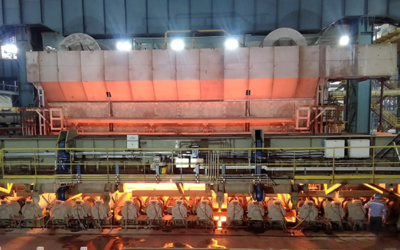 JSW Dolvi: First slab from the highest capacity reheating furnace supplied by Fives