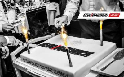 Seco/Warwick celebrates the company's 30th anniversary