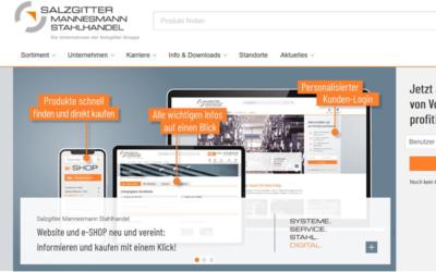 Salzgitter AG: Steel trade gains new web presence