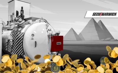Mint of Egypt orders Seco/Warwick vacuum furnace