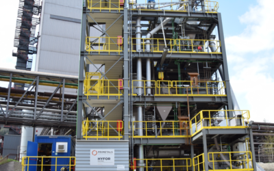 First tests of HYFOR performed at the pilot plant at the voestalpine site in Donawitz
