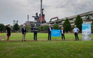 Svenja Schulze visits thyssenkrupp Steel in Duisburg