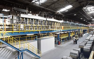 NLMK Group orders Tenova's Decarburisation and Coating Line