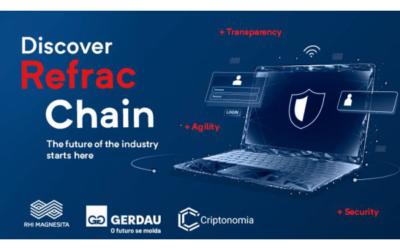 RHI Magnesita and Gerdau cooperate on using blockchain in the steel industry