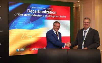 Decarbonisation: Metinvest and Primetals sign Memorandum of Understanding
