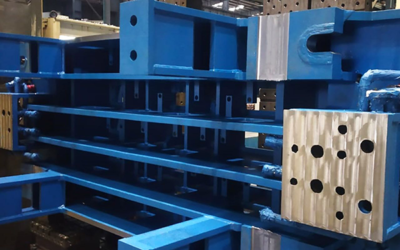 Danieli India supplies segments and mould assemblies for slab casters