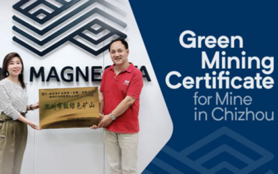 RHI Magnesita Mine in Chizhou awarded with the Green Mining Certificate