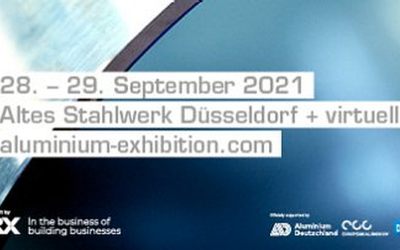 Premiere of ALUMINIUM Business Summit in the Old Steelworks in Düsseldorf