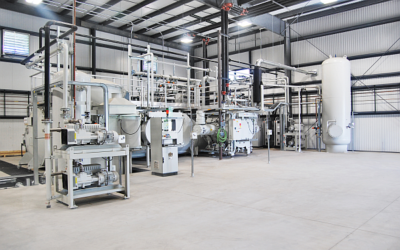 Nitrex Aurora's new LPC and vacuum system starts operation in September