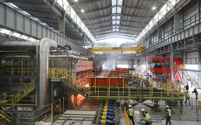 Tenova starts up two walking beam furnaces at Ternium Pesqueria