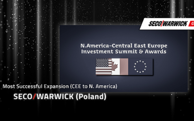 Seco/Warwick Group awarded for its U.S. expansion