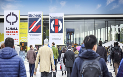 Industry players demonstrate presence at Blechexpo and Schweisstec