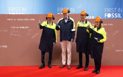 HYBRIT: SSAB manufactures and delivers first fossil-free steel