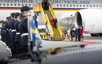 Salzgitter: Gunnar Groebler accompanies Federal President Steinmeier to Sweden