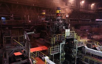 Kobe Steel orders steel plate finishing rolling mill
