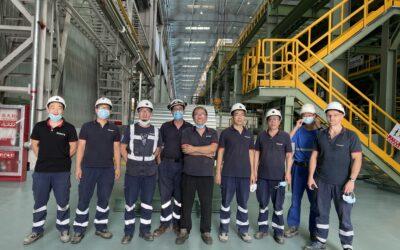 Tenova's aluminum line for Baowu Aluminum processed the first hot coil